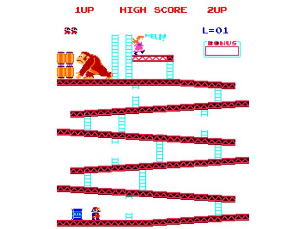 donkey kong online game