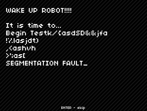 give up robot game