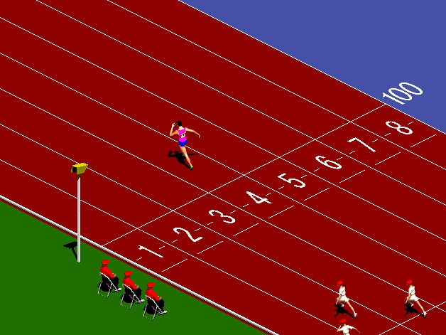 sprinter runner game